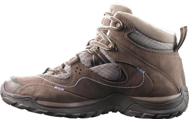 Salomon Elios Mid GTX 3 Hiking Shoes Women burroshrewpale lilac
